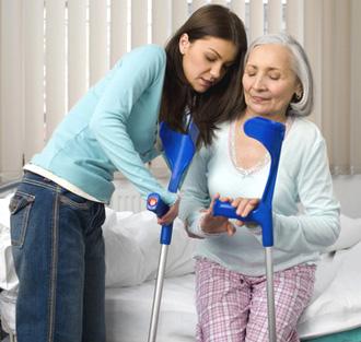 Лечебная физкультура (ЛФК) при переломе шейки бедра