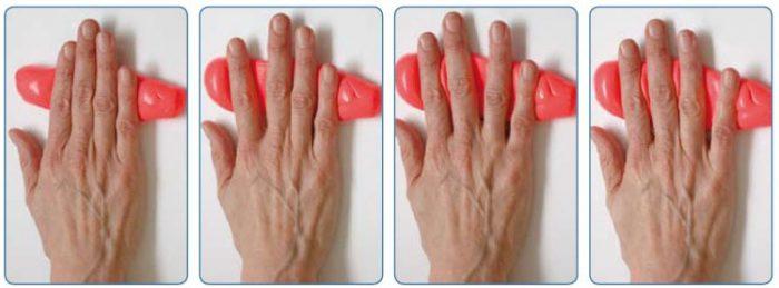 Как разрабатывать руку после перелома: комплексы упражненй ЛФК и ...