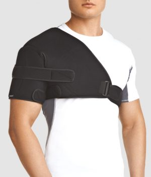 Изображение - Болит плечевой сустав после вывиха bandazh-na-pleche-300x351