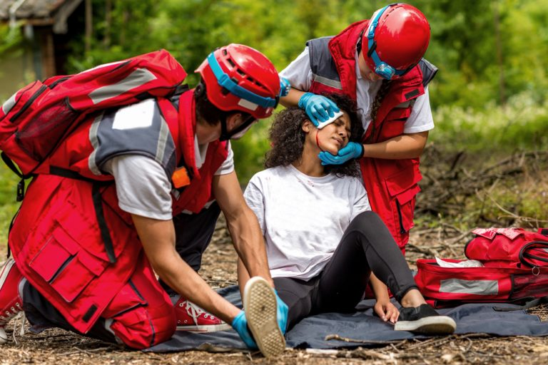 Первая помощь при травматическом шоке